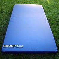 Мат гимнастический, спортивный (кожвинил) OSPORT 2м х 1м толщина 10см (FI-0014)