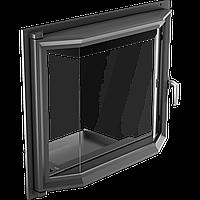 Призматические дверцы для камина Kratki Amelia 607х750 мм