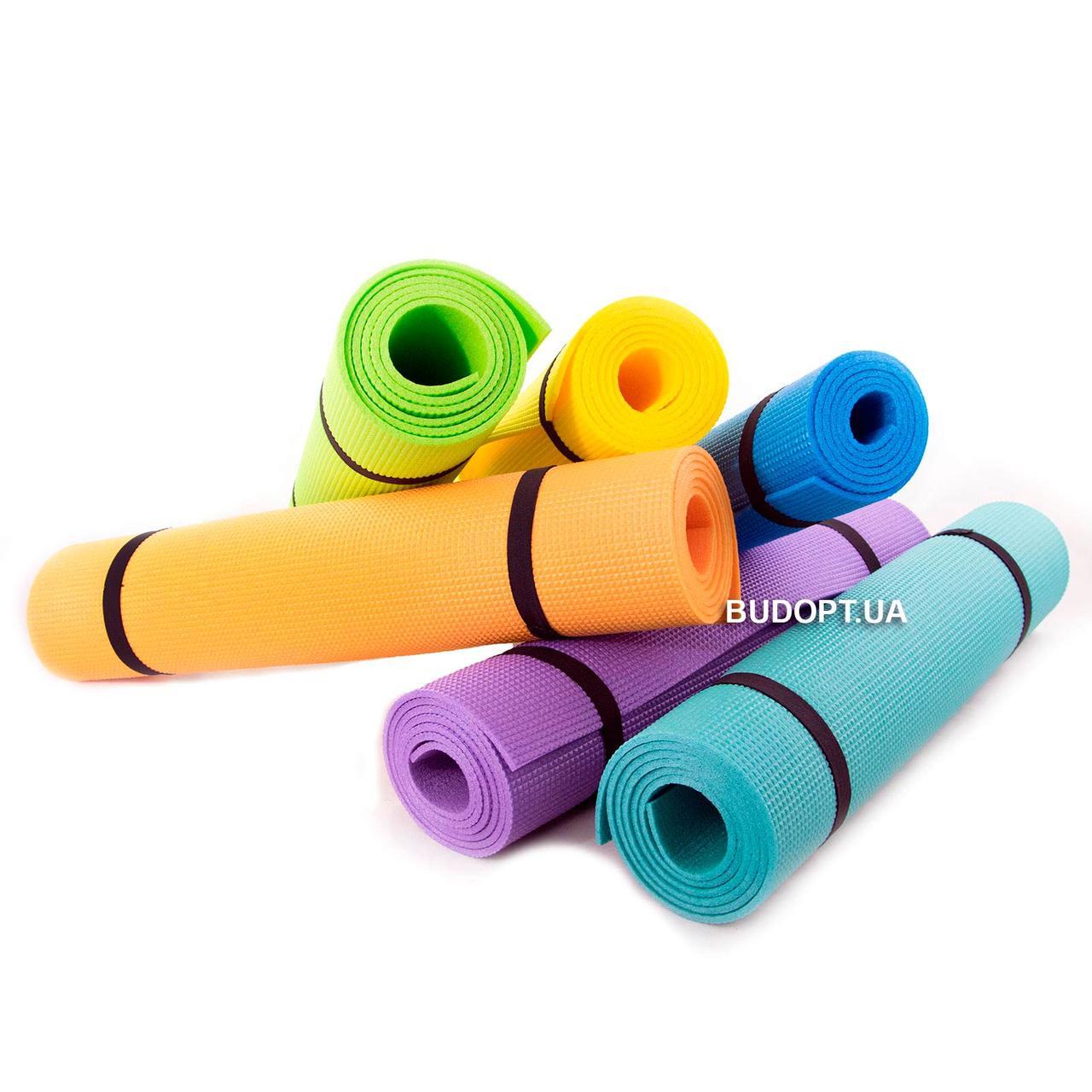 Коврик (каремат) для йоги, фитнеса, танцев OSPORT Колибри (FI-0077) - Интернет-магазин БудОпт в Днепре