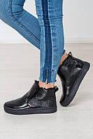 Зимние женские кожаные ботинки ТМ Bona Mente (разные цвета)