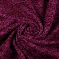 Трикотажная ткань Ангора софт (бордо)