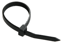 Хомут кабельный Хс пластиковый чёрный 8mm x 300mm  (упаковка 50 шт.)