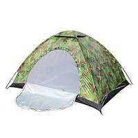 Палатка туристическая  4-х местная камуфляж