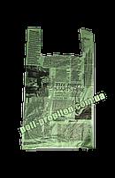 """Пакет майка """"Газета Green"""" 55х30"""