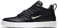 Мужские кроссовки Nike Tiempo Vetta '17 Black (Найк) черные
