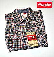 Рубашка мужская фланелевая Wrangler®(США) (L) /100% хлопок /Оригинал из США