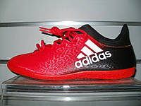 Футзалки adidas X 16.3 IN Red/Wht/Black BB5676