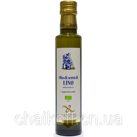 Масло льняное Ranieri Organic 250 мл (Италия)