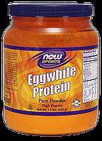Яичный протеин, Eggwhite Protein Now Foods, 544 g
