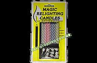 Свечи магические детские праздничные для торта (10шт.)