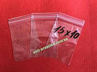 Пакеты полиэтиленовые струна с замком zip-lock 150x100мм