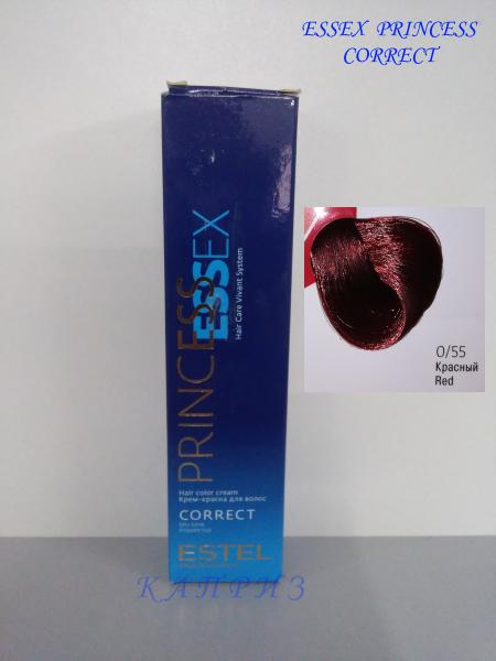 Краска для волос ESTEL ESSEX CORRECT 0/55