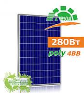 Amerisolar AS-6P30 280 W поликристаллическая солнечная панель (батарея, фотоэлектрический модуль)