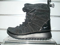 Кроссовки женские Nike Roshe one Hi Suede  807426-001
