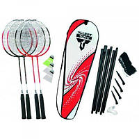 Бадминтон Talbot Torro Badminton Set 4 Attacker Plus 449515