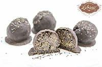 Конфеты Полезные Маковая в черном шоколаде