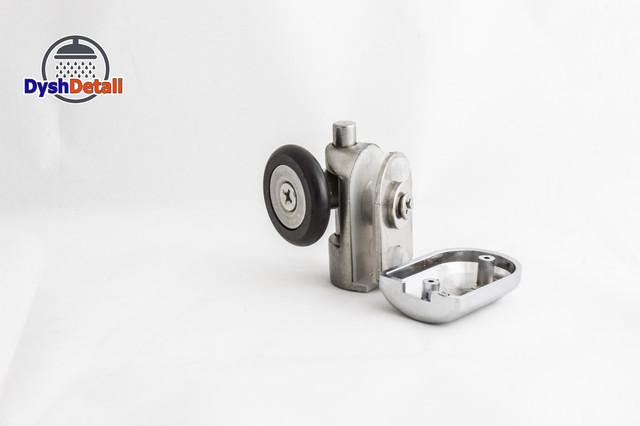 Ролик нижний, нажимной, металлический, поворотный, одинарный N-43N