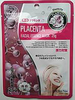 Тканевая маска с плацентой  Япония