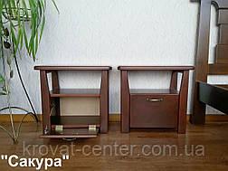 "Тумбочка прикроватная из массива дерева от производителя ""Сакура"", фото 2"
