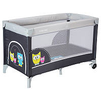 Манеж-кровать Baby Mix Sowa HR-8052 175 graphite