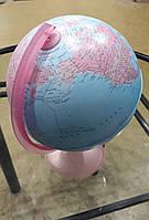 """Итальянский глобус  Орион """"Pink"""" Tecnodidattica с подсветкой 25 см, рус.яз"""