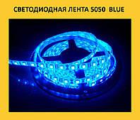 Светодиодная лента 5050  blue