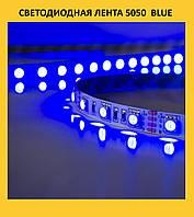 Светодиодная лента 5050  blue!Опт