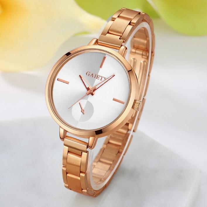 9171c2b955c8 Наручные женские часы браслет Розовое золото - Интернет-магазин
