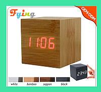 Часы электронные красные цифры. VST 869-1 Red clock 6.5 x 6.5 x 6