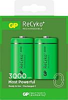 Аккумуляторы GP Re Cyko+ С (R14) 3000mAh 2шт