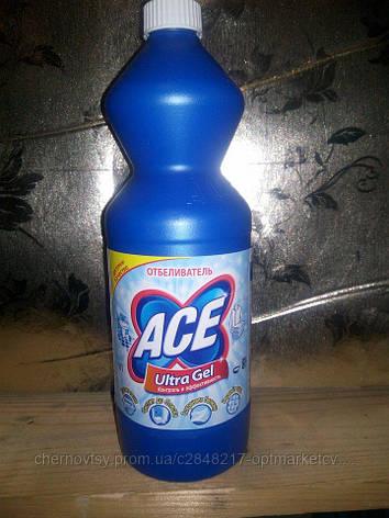 Жидкий отбеливатель ACE Gel Automat Ultra 1 л , фото 2