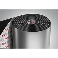 Вспененный каучук фольгированный 9мм с липким слоем