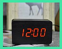 Часы электронные красные цифры. VST 863-1 Red clock 10 x 6 x 4