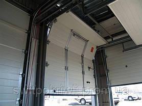 Промышленные секционные ворота Алютех ProPlus, фото 2