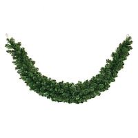 Декоративная хвойная гирлянда (ель) 2.6 м диаметром 23 - 33 см