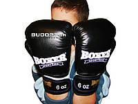 Детские боксерские перчатки кожаные Boxer 6 унций (bx-0026)