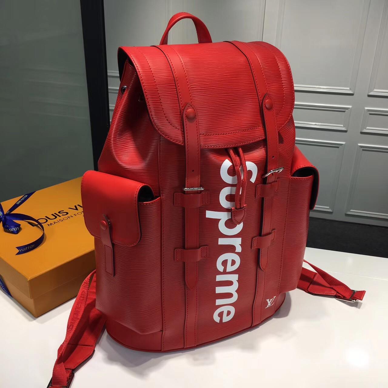 5c9b44abfba4 Рюкзак Supreme Louis Vuitton, цена 10 990 грн., купить в Киеве — Prom.ua  (ID#618786318)
