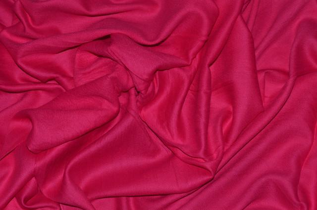 Палантин из кашемира однотонный розовый Фото 3
