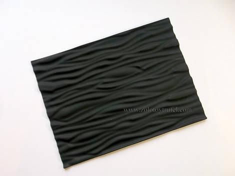 """Силиконовый текстурированный коврик """"Кора дерева 25*18 см"""