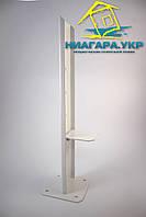 Напольное крепление регулируемое KRAFT для стальных радиаторов тип 22-33 высотой 300-600мм