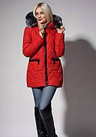 Куртка с капюшоном, с съемным искусственным мехом