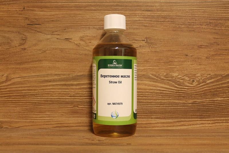 Веретенное масло, Straw Oil, Borma Wachs, Restoration Line, 500 мл.