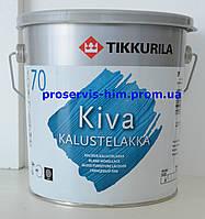 Tikkurila Kiva 70, Кива лак глянцевый 2.7л