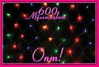 Гирлянда-сетка 600 NET LEVEL Color!Опт