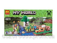 "Конструктор BELA Minecraft (262 деталей) серии My World 10175 ""Ферма"""