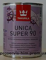 Уретано-алкидный глянцевый лак Уника Супер (Unica Super) 90 0,9л