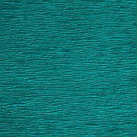 Креп-бумага (гофрированная бумага) Бирюзовая  50X200 см N21 Польша 30-40 грамм