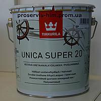 Уретано-алкидный полуматовый лак Уника Супер (Unica Super) 20 2,7л