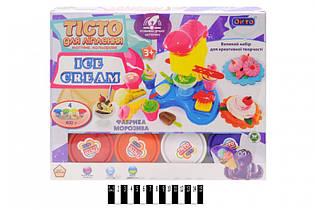 Набор для творчества тесто для лепки,масса, пластелин, Фабрика мороженого 11016, Украина