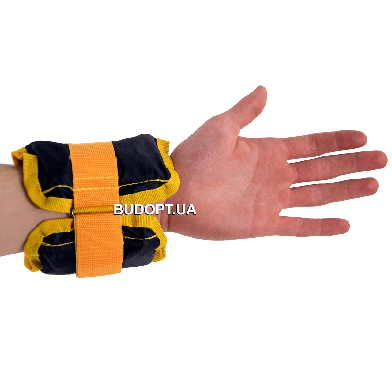 Утяжелители для ног и рук OSPORT 2шт по 1.5кг (FI-0001-1.5) - OSPORT - Спортивные товары в Киеве